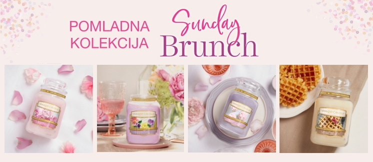 Pomladna kolekcija SUNDAY BRUNCH