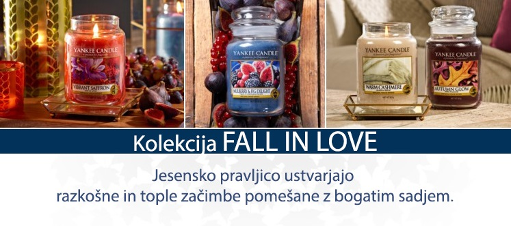 Kolekcija FALL IN LOVE