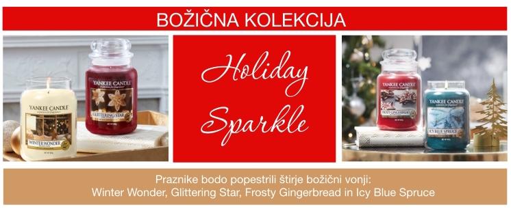 Božična kolekcija HOLIDAY SPARKLE