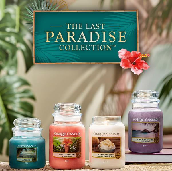 Yankee Candle te pelje v tropski raj!