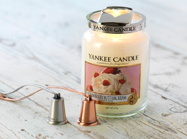 Vzdrževanje dišečih sveč Yankee Candle