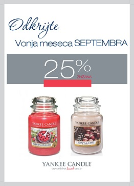 Yankee Candle Vonj meseca september