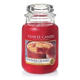Yankee Candle Rhubarb Crumble