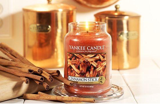 Yankee Candle sveča Cimet