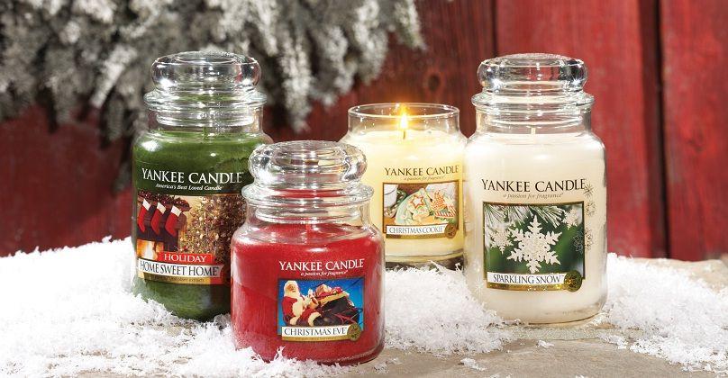 Yankee Candle božične sveče